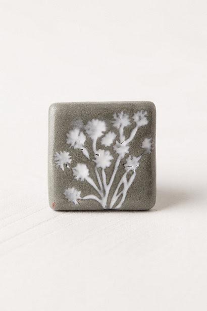 Flower Imprint Knob