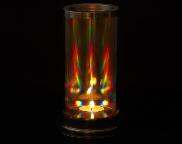 Rainbow Light Candle