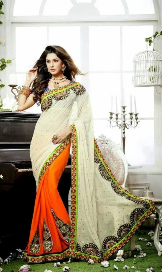 Bridal-Wedding-Rich-Heavy-Embroidered-Sarees-Designs-Lehanga-Style-Fancy-Sari-New-Fashion-11