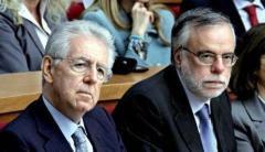 """monti riccardi 20121117 211272 tn Riccardi accusa Monti: """"Più dava legnate al paese, più la Merkel era contenta e più lui era soddisfatto"""""""