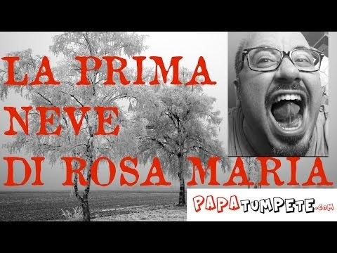 La neve a Palermo, Rosa Maria a casa