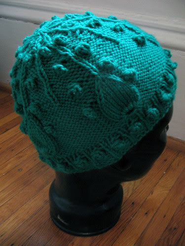 Droplet Hat from Knitting Nature