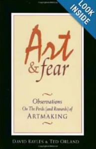 Art Fear Quotes Ben Rosenfeld