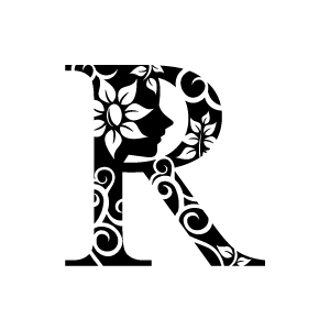 Flower Black And White Graphic Flower Design Black And White Clipart