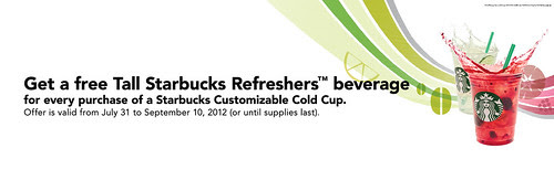 Refreshment Tumble Offer
