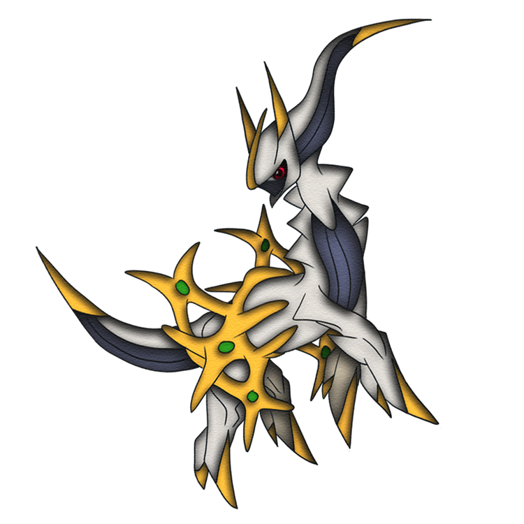 Legendary Arceus by macalaniaa on DeviantArt