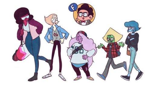 University AU! Steven Universe