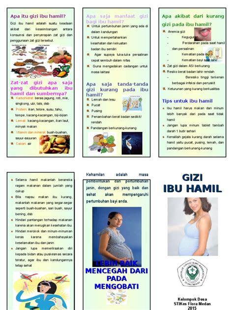 manfaat gizi bagi ibu hamil