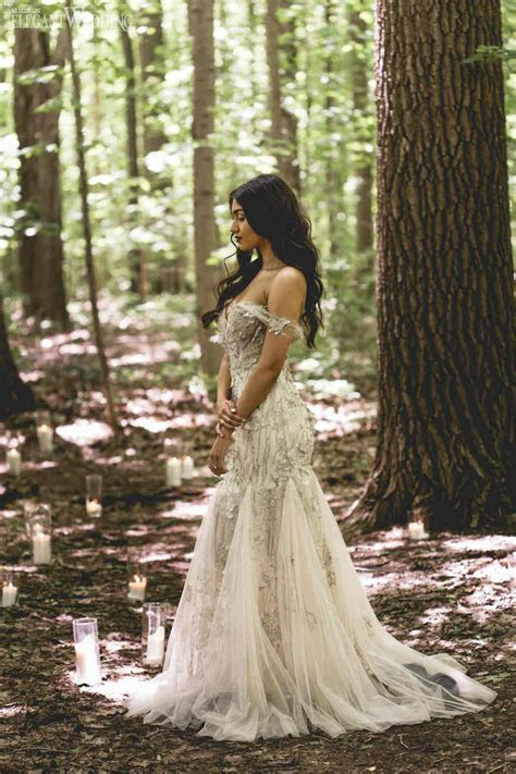 Enchanted Purple Wedding Theme   ElegantWedding.ca