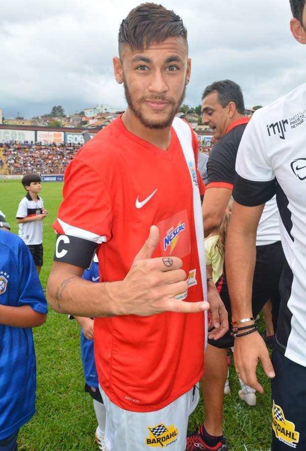 Neymar (Foto: Araújo, Caio Duran, Clayton e Martins / CDC Shows e Eventos)