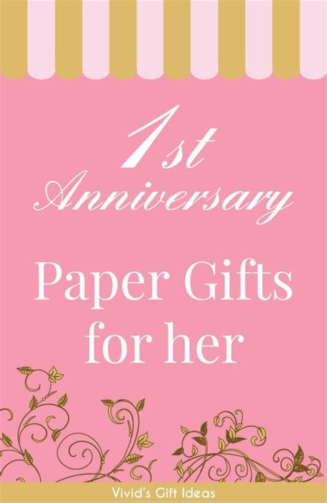 18 Paper Anniversary Gift Ideas for Her   VIVID'S