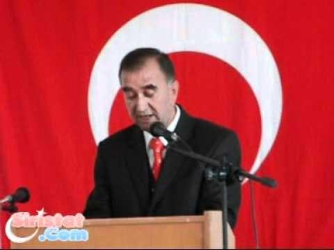Cumhuriyet İlöğretim Okulu Öğretmeni Halil Altınsoy'un Konuşması.