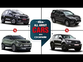 All About Cars   Kia Sonet vs Tata Nexon   Toyota Fortuner vs Ford Endeavour   Best SUV   CarWale