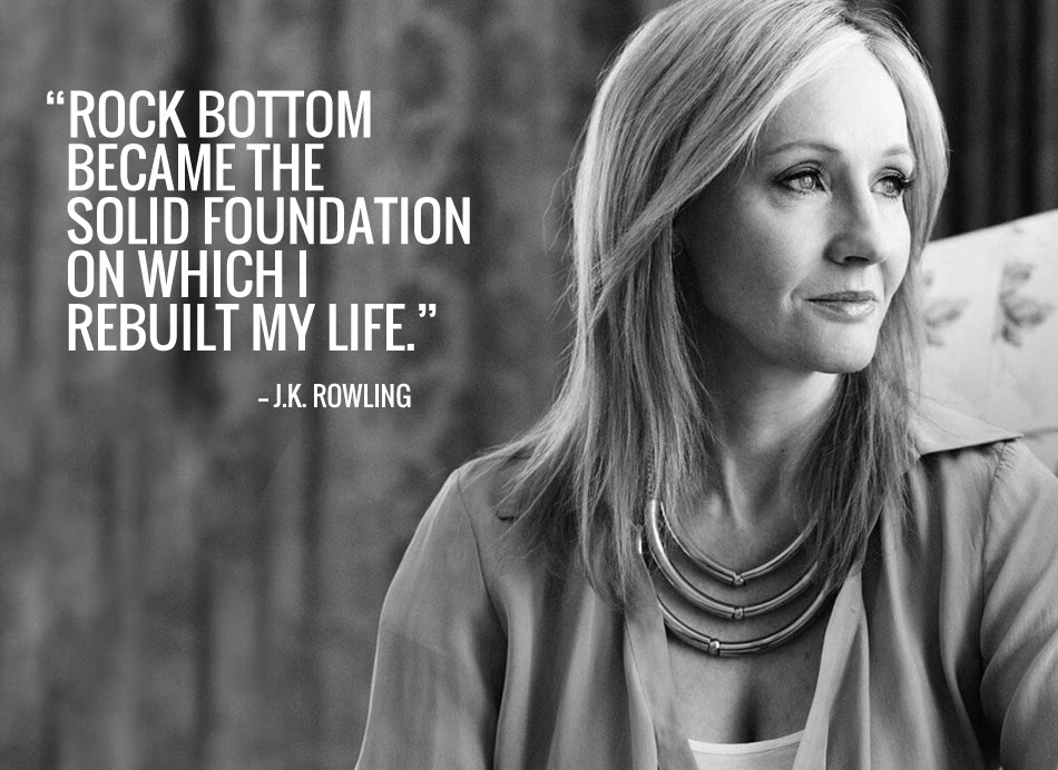 Pax On Both Houses Jk Rowling Rock Bottom Became The Foundation