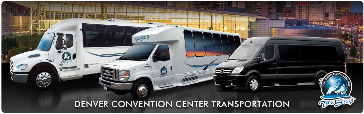 Denver Convention Center Shuttle Transportation