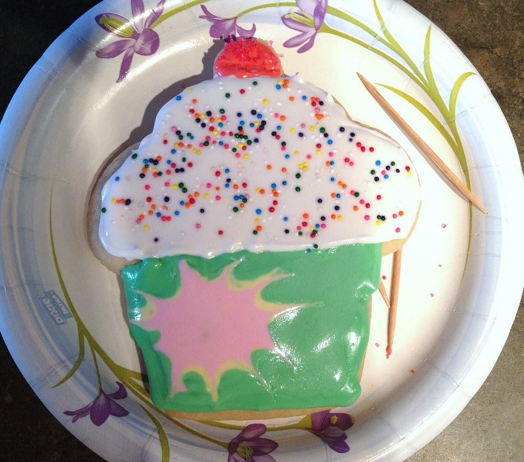 My cupcake cookie