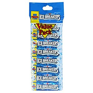 Amazon.com : Ice Breakers Chewing Gum, Cool Mint, 8-Count ...
