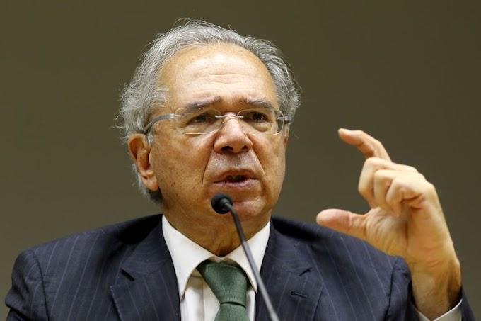 """""""Em nenhum momento eu pedi demissão"""", diz ministro Paulo Guedes"""