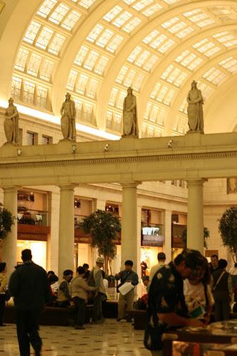 Washington DC train station
