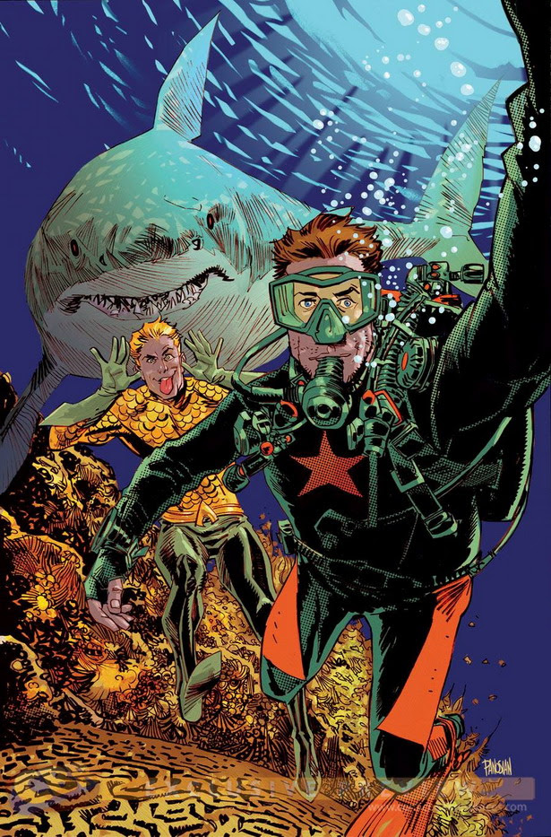 Selfie Aquaman