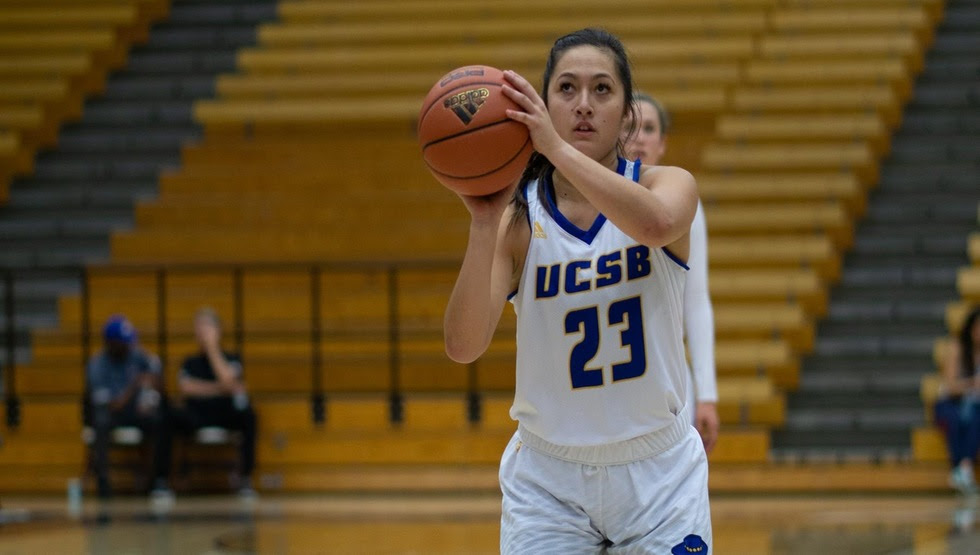 Coco Miller set a career-high in points with 33 in the Gauchos' 75-67 loss at Cal Poly. (Photo by Jeilo Gauna)
