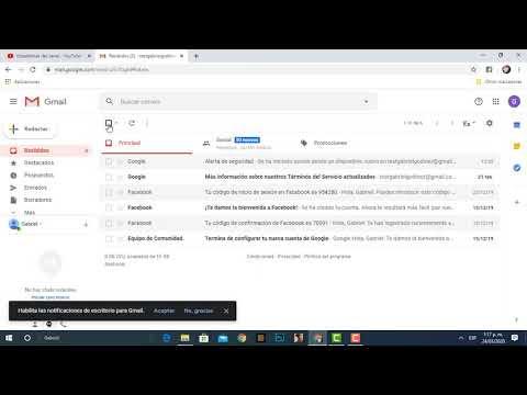 Marcar Mensaje Correo Abierto en Gmail como No leído