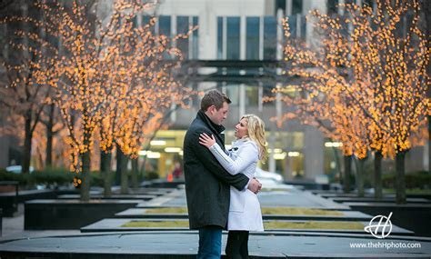 Winter Engagement Photos Chicago   Blake and Steve