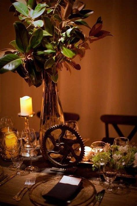 20 Creative Steampunk Wedding Centerpieces   Steampunk