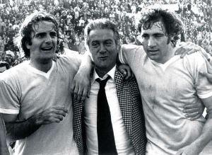 Lazio 1974: Wilson, Maestrelli e Chinaglia