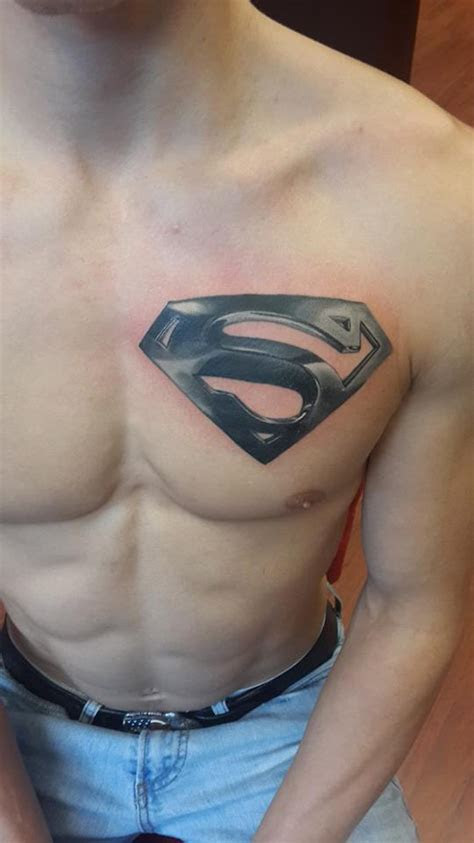 superman chest tattoo designs ideas  meaning tattoos