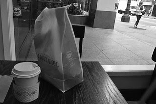 La Boulange - Coffee and bag