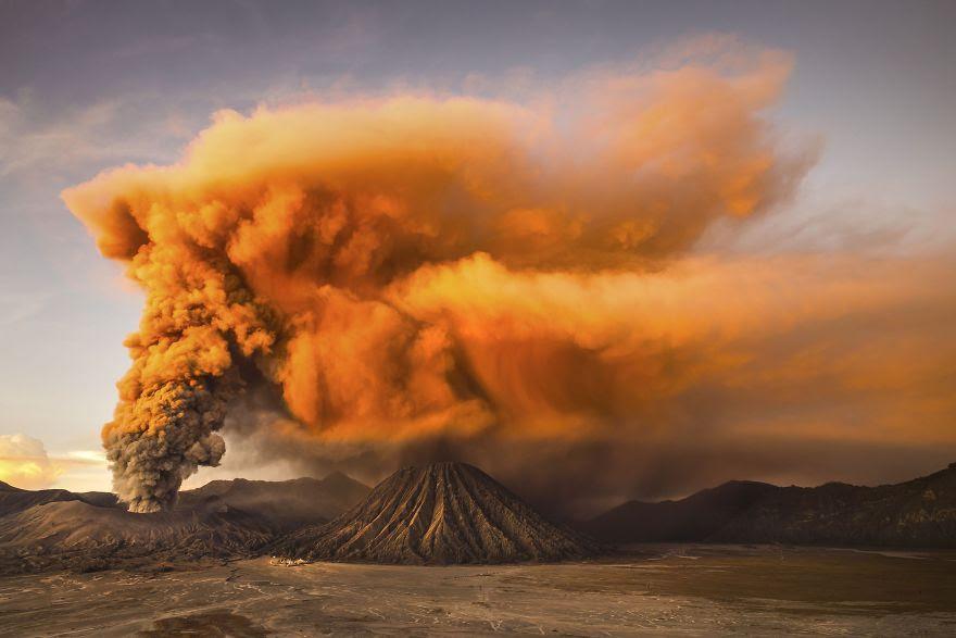 # 8 Mansiyon, Doğa: Mt. Bromo, Doğu Java, Endonezya
