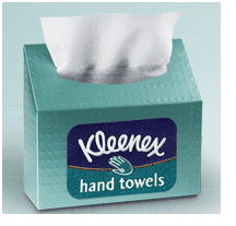 kleenexhandtowels $0.50 Coupon off ANY Kleenex Hand Towels