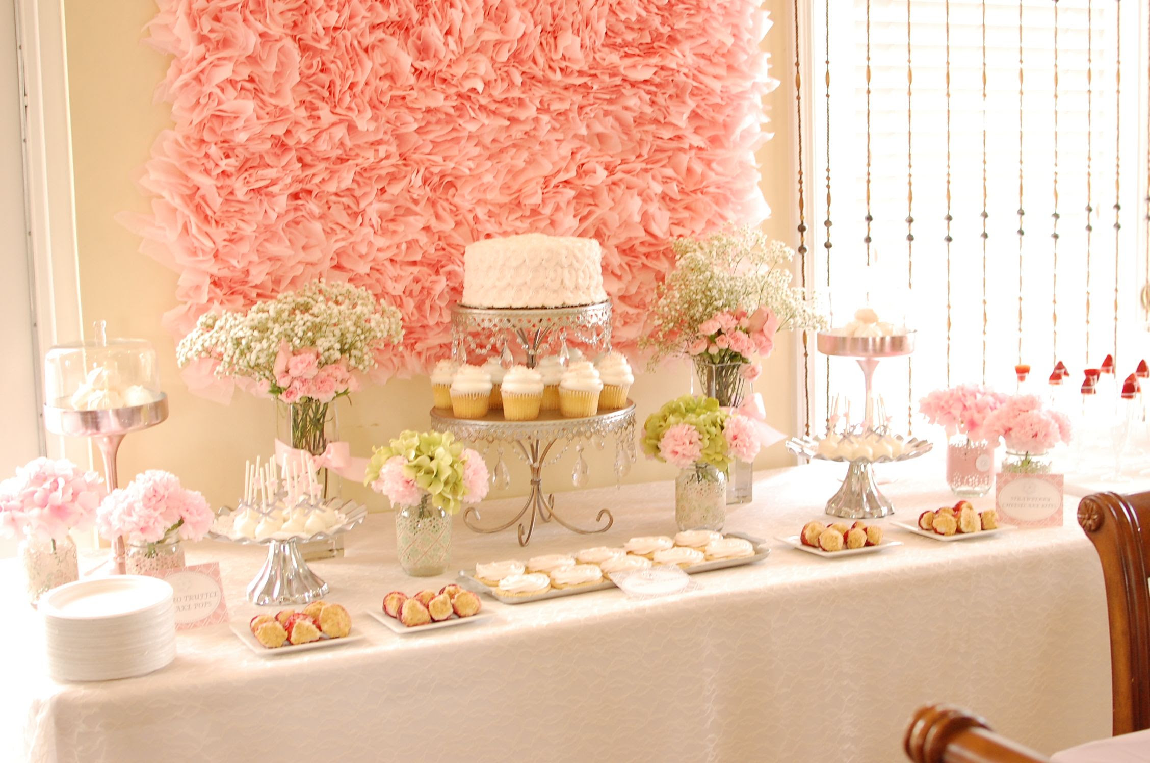 Shabby Chic Wedding Shower Ideas Bridal Shower Shabby Chic Vintage