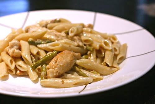 Lemon Chicken and Artichoke Pasta