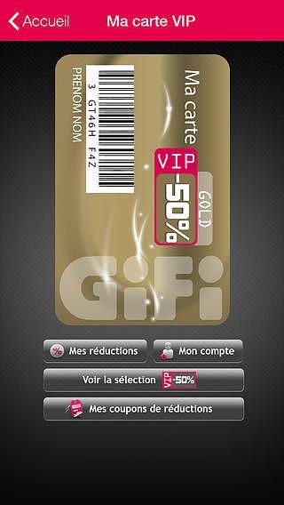 comment imprimer la carte gifi vip Carte Vip Gifi   Carte