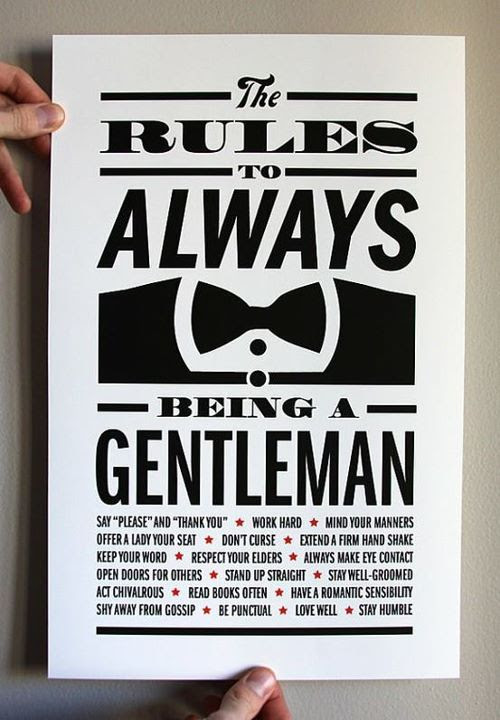 Pictures Of Rule Of A Gentleman Quotes Rock Cafe