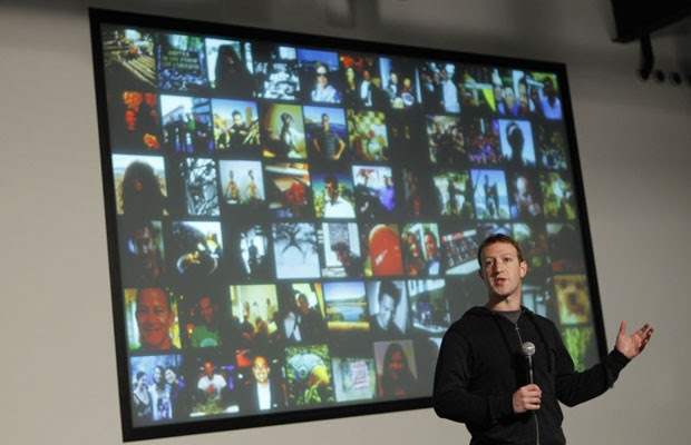 Mark Zuckerberg fala sobre a nova ferramenta de buscas do Facebook (Foto: Robert Galbraith/Reuters)