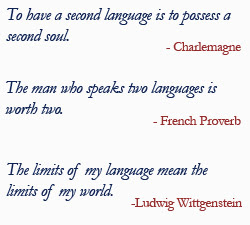 Famous Quotes About Languages Sualci Quotes