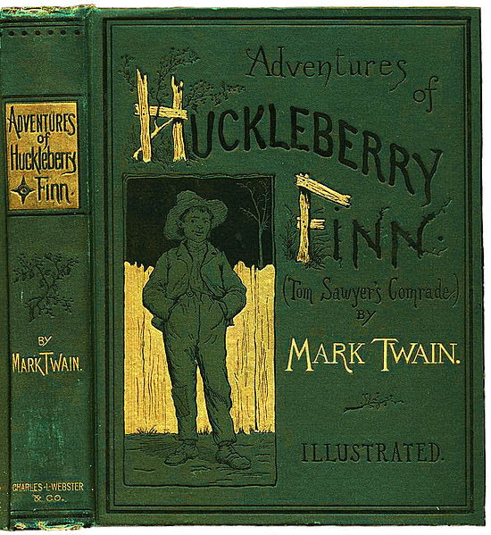 File:Huckleberry Finn book.JPG