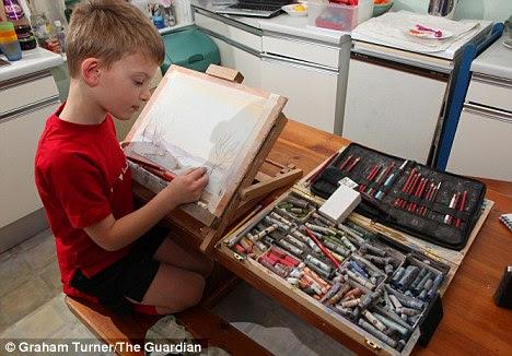 Child Artist Kieron Williamson