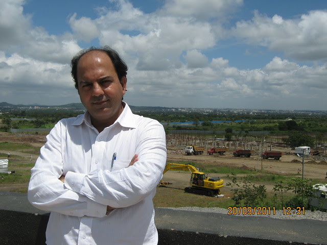 "Mr. Mahesh Saluja, AVP - Sales & Marketing,  Kolte-Patil I-Ven ""Special"" Township at Marunje Hinjewadi Pune"