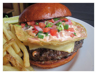 Southwestern Burger 320 pixels w border