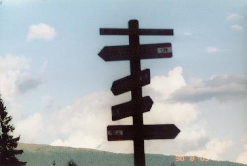 Rifugio Berti, segnavia,sentieri, scelte