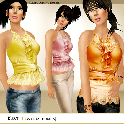 Zaara  Kavi tops (warm)