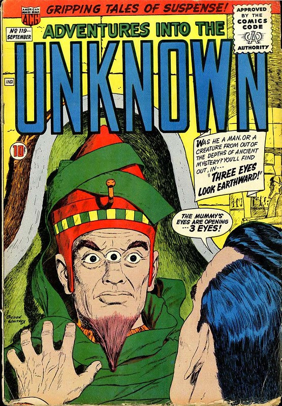 American Comics Group Adventures into the Unknown 119