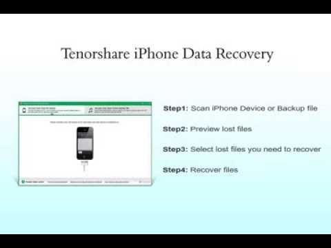 iPhone Stuck in Recovery Mode, How to Recover Data on iPhone 5S\/5C\/5\/4S\/4 YouTube