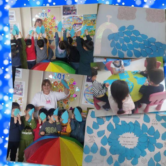 Minik öğrencilerimizin Dünya Su Günü Etkinlikleri Eğitim Bilişim Ağı