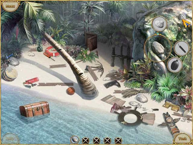 Escape from Lost Island Free PC Game Screenshot