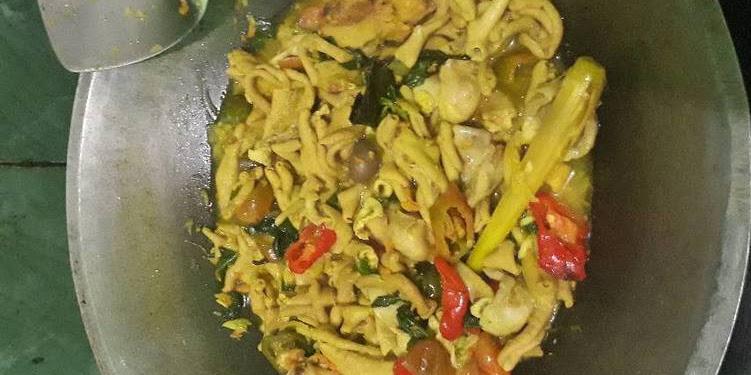 Resep Usus Ayam Masak Kuning Oleh Jia